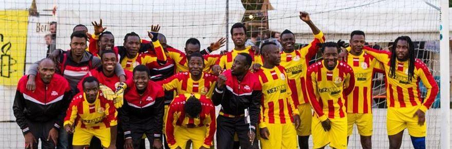 FC Lampedusa integrazione attarvaerso lo sport squadra maghweb