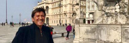 Gianni Morandi parole non o_stili Trieste manifesto comunicazione testimonial