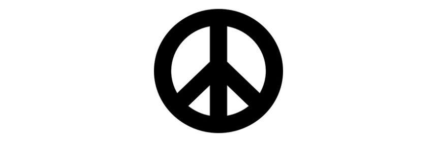 simbolo pace gerald hotom