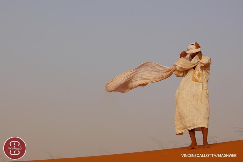 Sahara, confine Algeria-Marocco. Il lunedì è duro ma basta mettere ordine in ciò che hai in testa